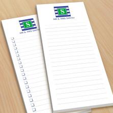 Monogram List Pad 16 - With Magnets