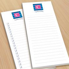 Monogram List Pad 2 - With Magnets