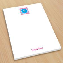 Monogram Note Pad 6 - Small