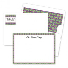 Moroccan 2 Artistic Correspondence Card Ensembles