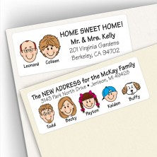 Moving/New Home Address Labels