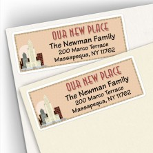 Moving New Place City Address Labels