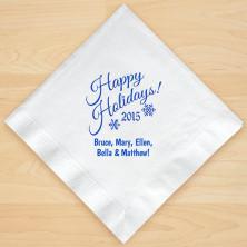 Christmas Napkin Design 15 Personalized Christmas Lunch-Dinner Napkins