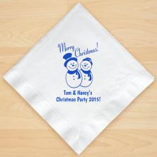 Christmas Napkin Design 18 Personalized Christmas Lunch-Dinner Napkins