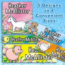 Nursery Baby Waterproof Name Labels For Kids