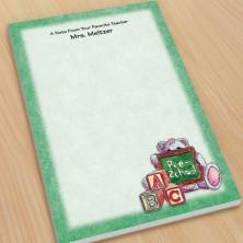 Preschool Teacher Large Note Pads
