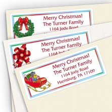 Holiday Assortment Pack Address Labels