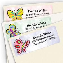 Butterflies Address Label Assortment Pack
