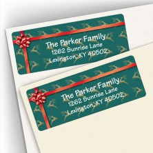Reindeer Address Labels