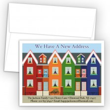 Row Houses Moving Card