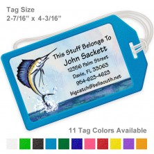 Sailfish Luggage Tag
