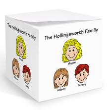 Single Parent Memo Cubes