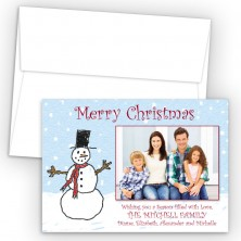 Sowman Photo Upload Holiday Card
