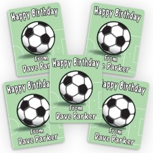 Soccer Mini Gift Labels