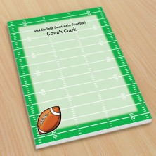 Sports Football Small Note Pads