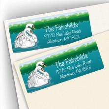Swans Address Labels