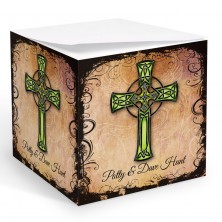 Tattoo Celtic Cross Memo Cube
