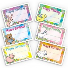 Toddler Toys Gift Labels