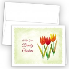 Tulips Note Card