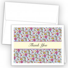 Vintage Tapestry Thank You Cards