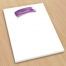Violet Watercolor Small Note Pads