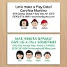 Family Contact Cards