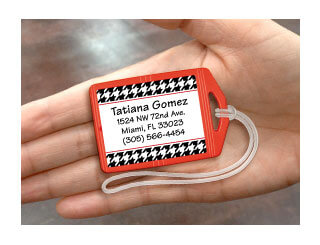 Mini Luggage Tags