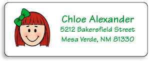 Personalized Address Labels for Kids