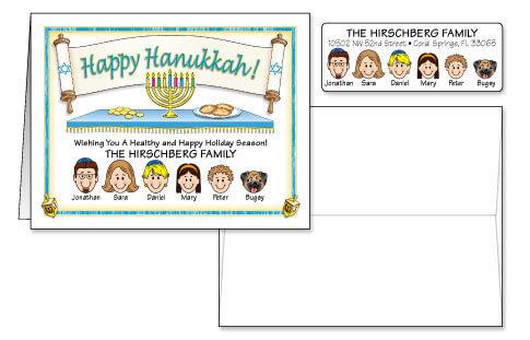 Hanukkah Card Combo Sets