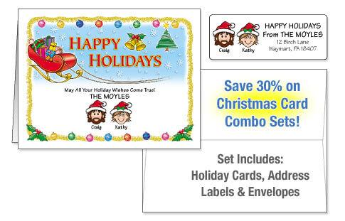 Holiday Card Combo Sets
