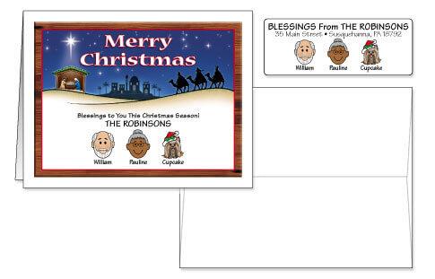 Christmas Card Combo Sets