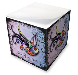 Tattoo Art Memo Cubes