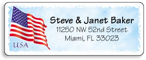 Flag Address Labels