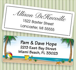 Custom Artistic Address Labels