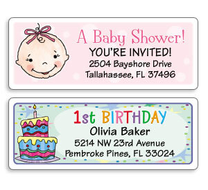 Address Labels for Special Occasions
