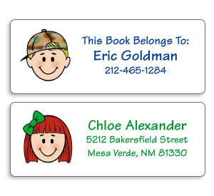 Personalized Labels for Kids