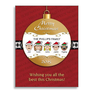 Christmas Ornaments Cards