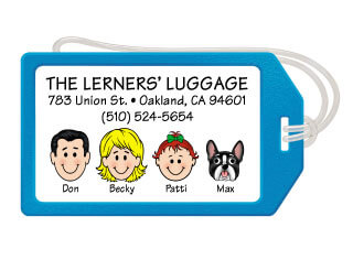 Family Luggage Tags