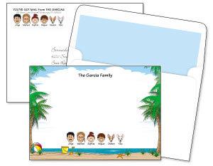 Family Correspondence Card Ensembles
