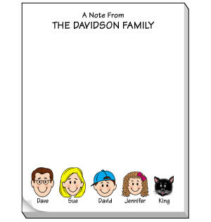 Family Note Pad