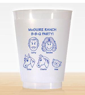 Caricature Cups