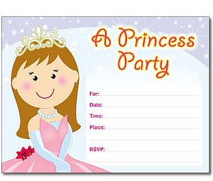 Fill-In Birthday Party Invitations