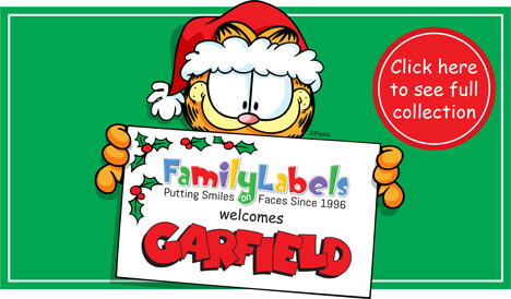 Garfield Collection at Family Labels