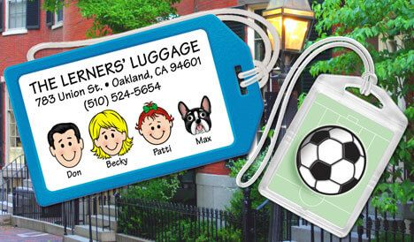 Personalized Luggage & Mini Bag Tags
