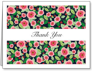 Non-Personalized Thank You Cards