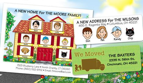 Personalized Moving Cards & More