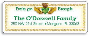 Irish Address Labels