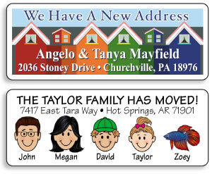 Moving Address Labels