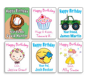 Personalized Mini Gift Labels