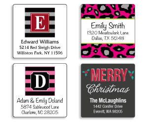 Square Address Labels